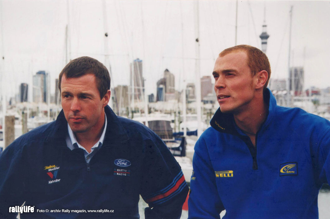 Richard Burns Colin McRae