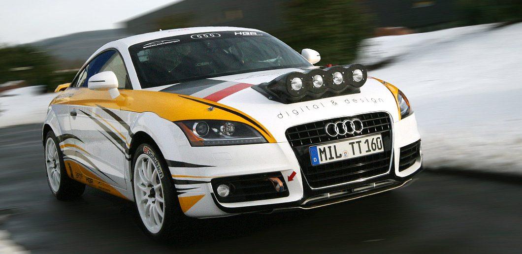 Audi TTS Rallye
