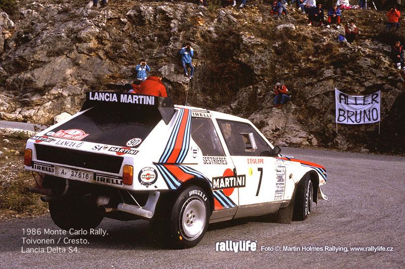 Henri Toivonen - Lancia Delta S4