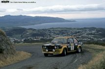 Fiat 131 Abarth Rally New Zealand 1977