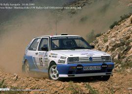 VW Golf Rallye G60 sk. A – Technika z minulého století