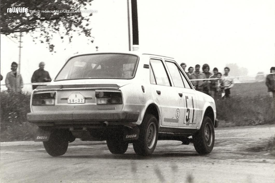Pavel Sibera Škoda 130 L