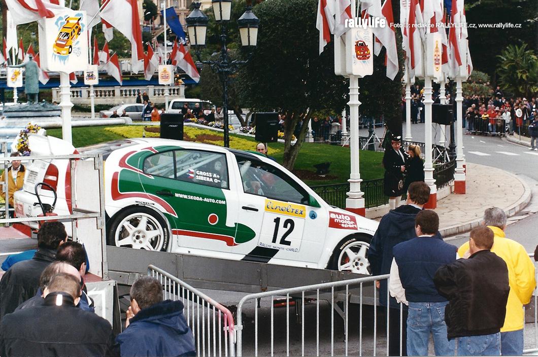 Pavel Sibera Škoda Octavia WRC