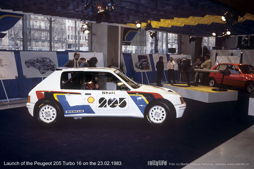Peugeot 205 T16 GR.B