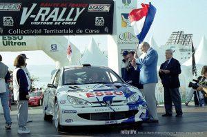 Peugeot 206 WRC Tour de Corse 1999