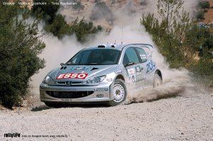 Peugeot 206 WRC Grönholm Greece