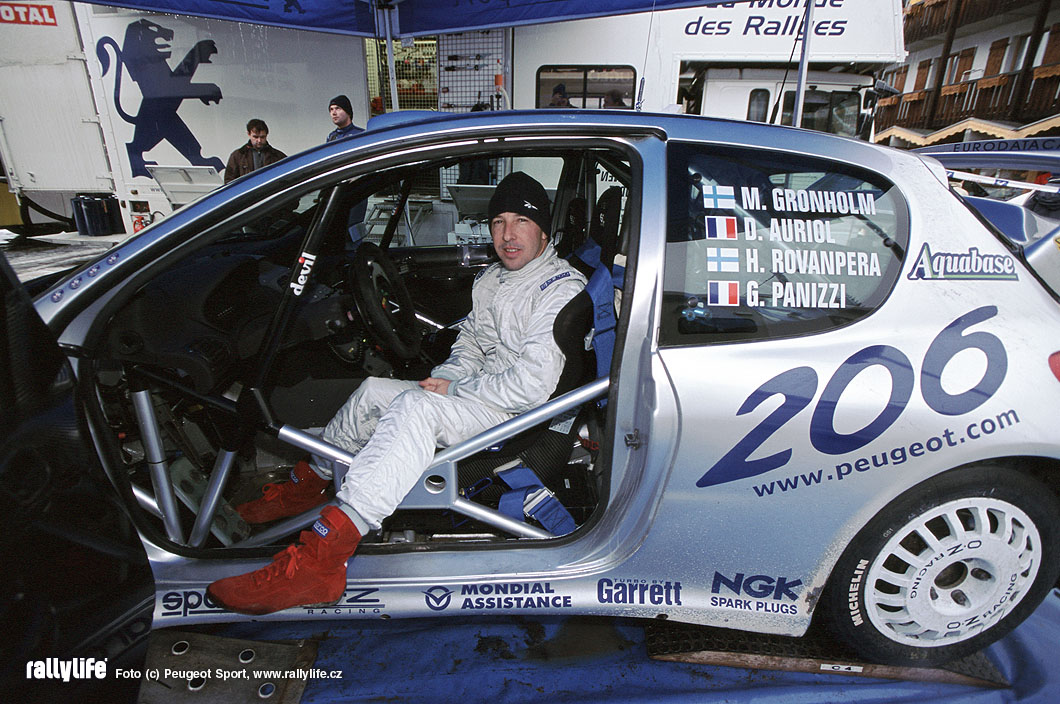 Peugeot 206 WRC Didier Auriol