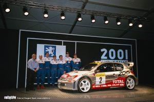 Team Peugeot 2001
