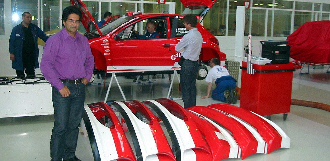 Michael Nandan Peugeot 206 WRC