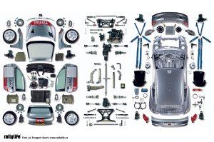 Peugeot 206 WRC scheme
