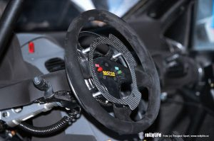 Peugeot 206 WRC volant