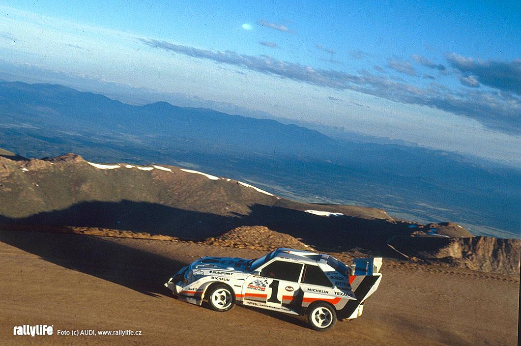 Audi Quattro Pikes Peak
