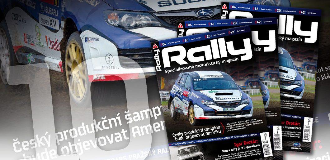 RALLY magazín 10 / 2013