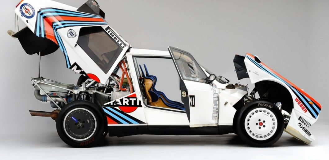 Lancia Delta S4 aukce