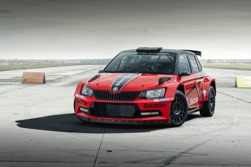 2016_Skoda Fabia R5_Red Barum rally livery 02