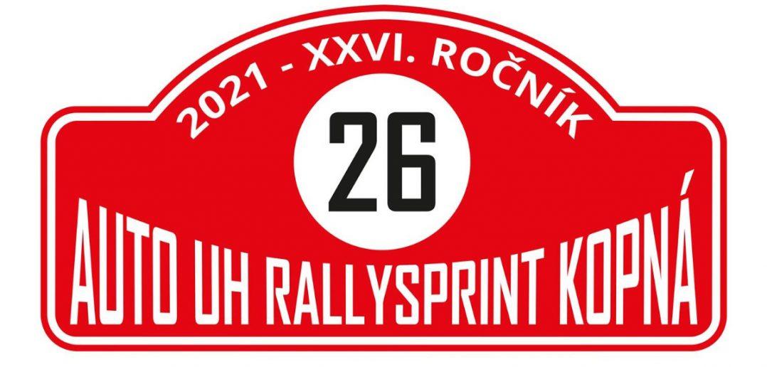 Auto UH Rallysprint Kopná 2021