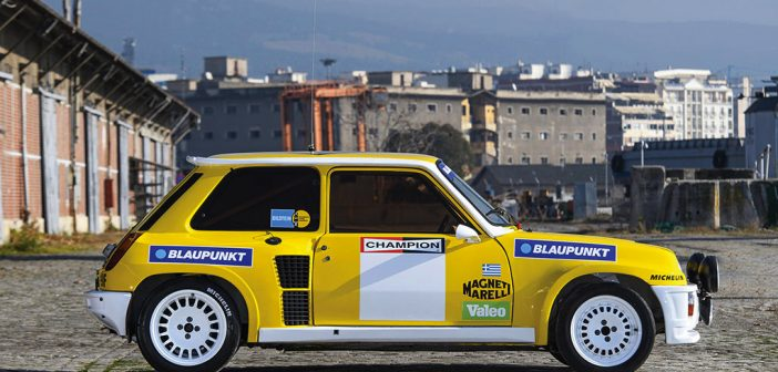 Aukce: 1982 Renault 5 Turbo Group B
