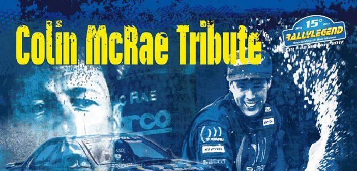 Rallylegend 2017 jako pocta Colinu McRaeovi