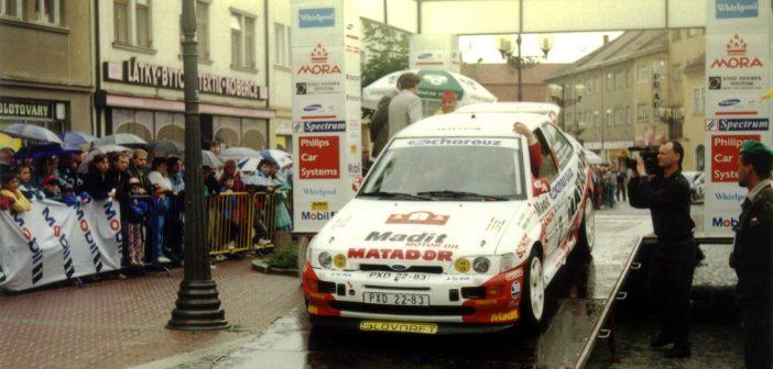 Před 20 lety: Rally Vyškov vstupuje mezi elitu (+VIDEO)