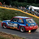 eifel rallye festival 2017 renault 5 turbo