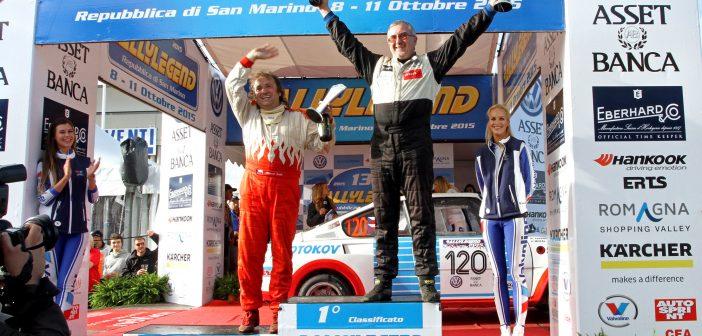 Rallylegendy 2017: Tuček s Machem míří opět do San Marina