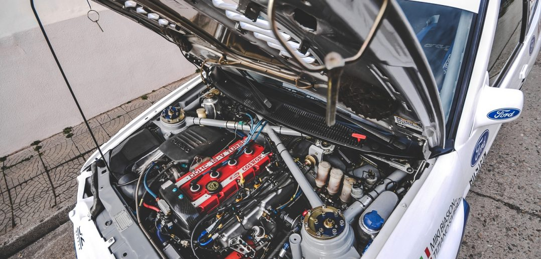 Testování soutěžních automobilů 2018