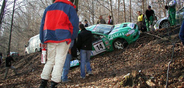 Historie: Plechová sobota na Valašské rally 2005