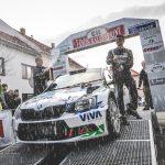 Vančík Rallysprint Kopná 2018 - Vítězná posádka Kostka/Kučera