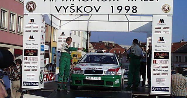 Rally Vyškov před 20 lety: Nevyužitá příležitost (+VIDEO)