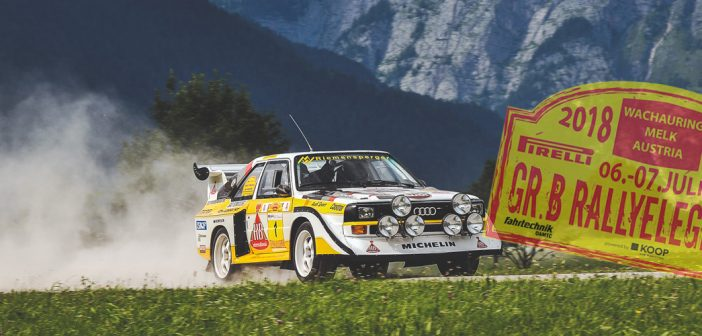 Gruppe-B Rallyelegenden 2018 se vrací!