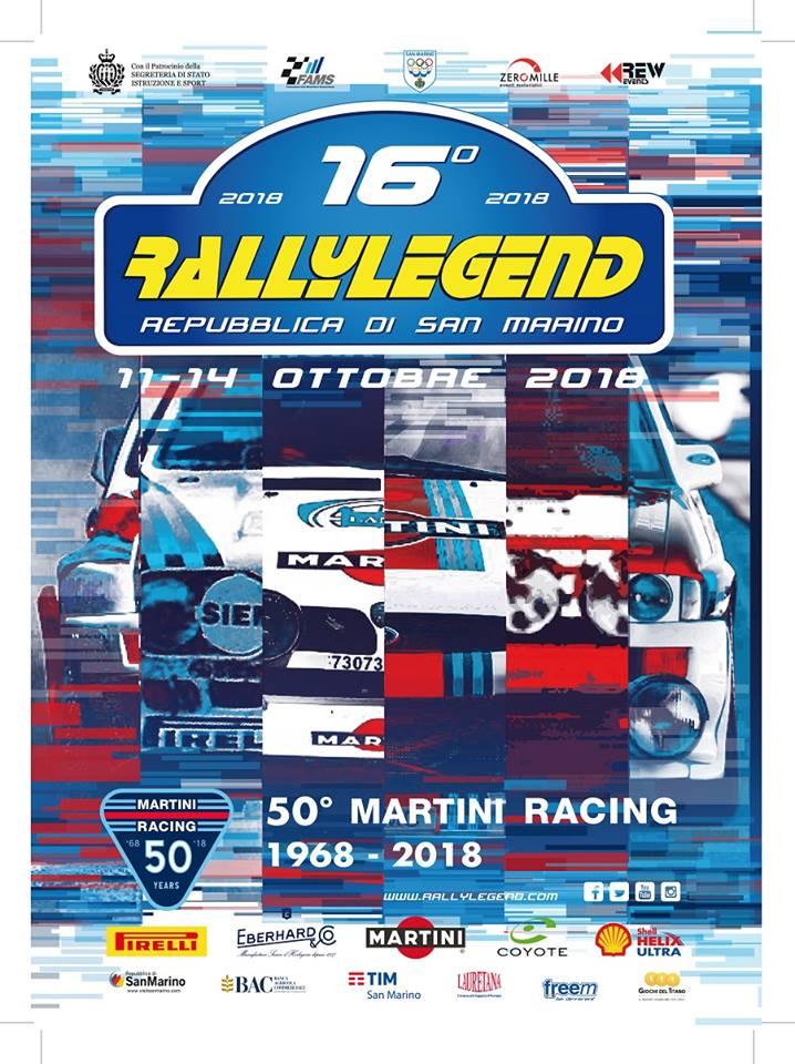 RALLYLEGEND 2018 s příchutí Martini
