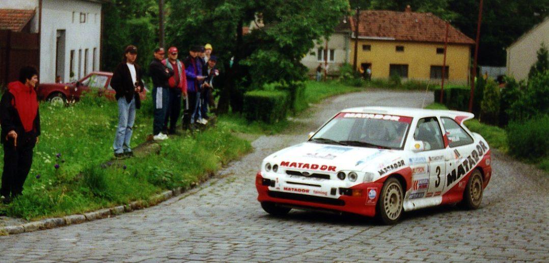 Staňa Chovanec Magnum rally Vyškov 1999