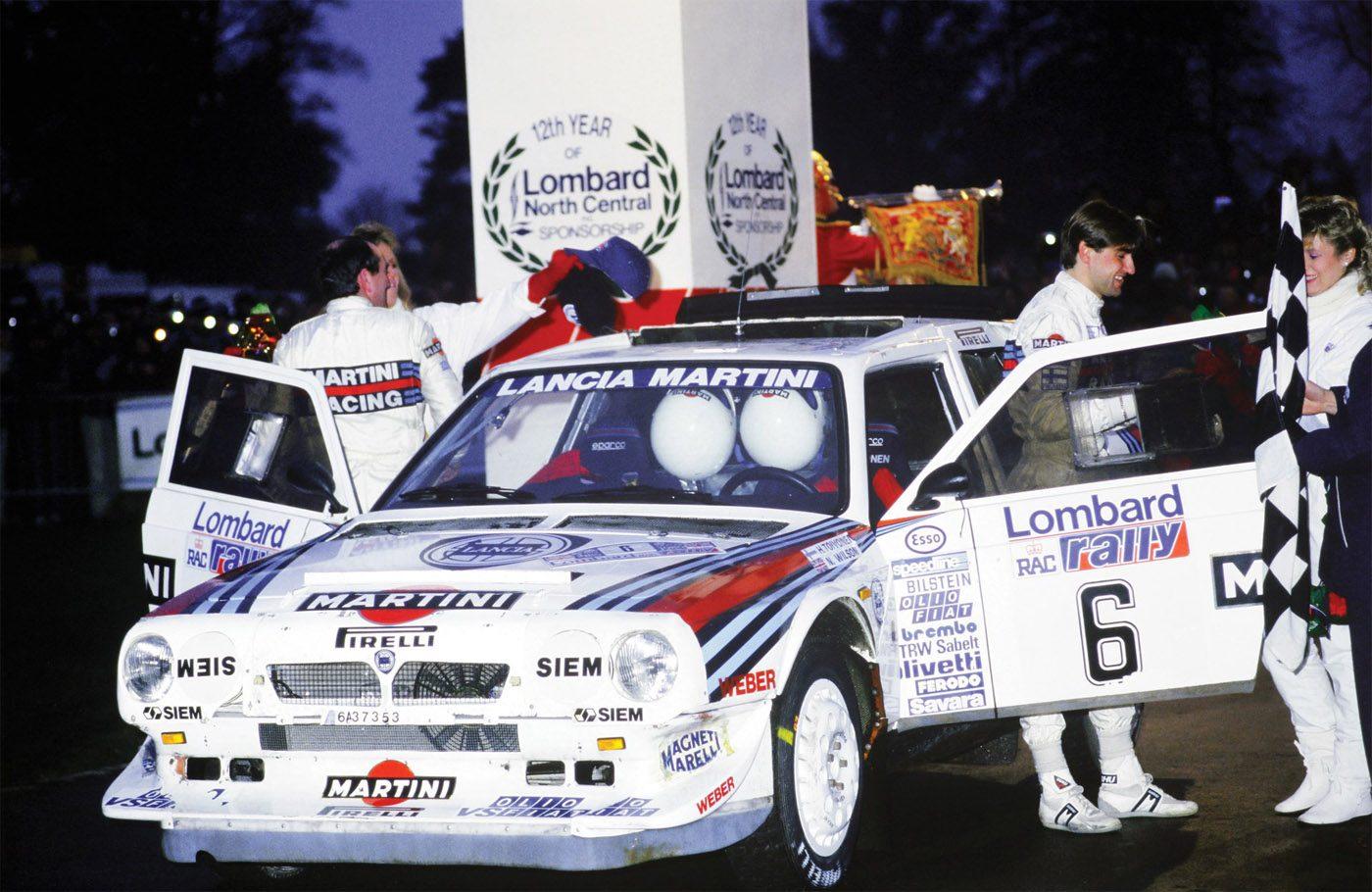 Lancia Delta S4 RAC Rally 1985