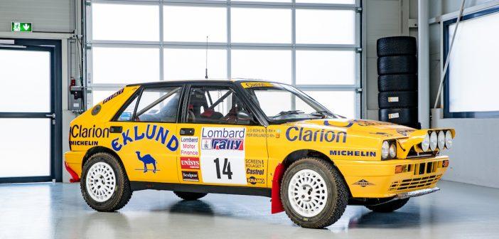 Lancia Delta Integrale 16V – auto s velbloudem