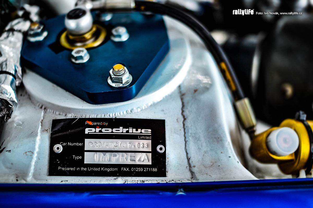 Subaru Impreza WRC štítek