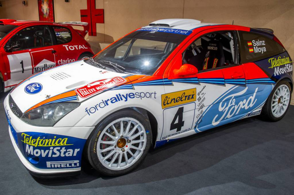 Ford Focus WRC ex-Sainz