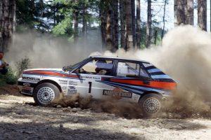 Lancia Delta HF Integrale 8V - Olympus rallye 1988