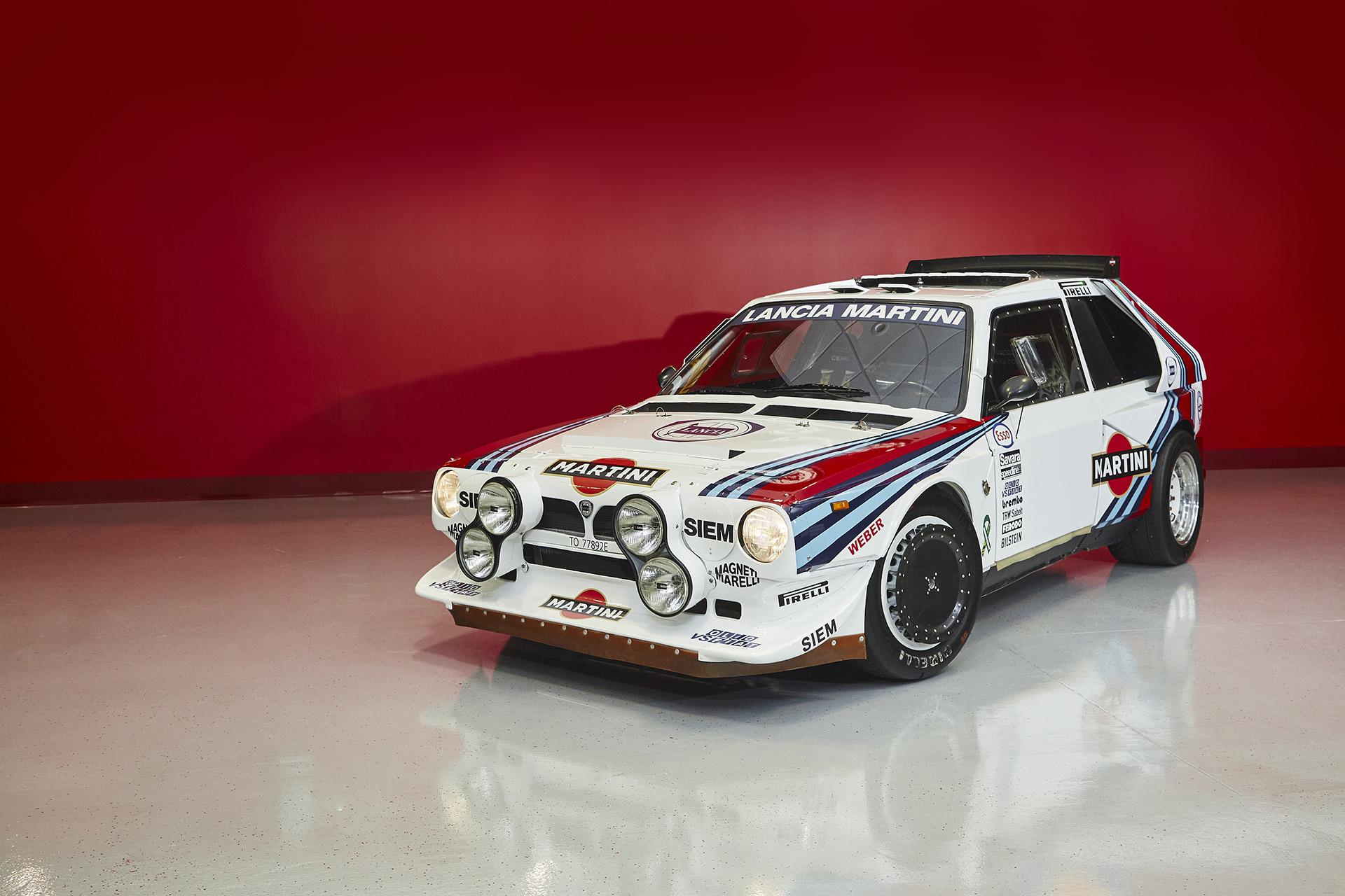 Lancia Delta S4 Rally John J Campion
