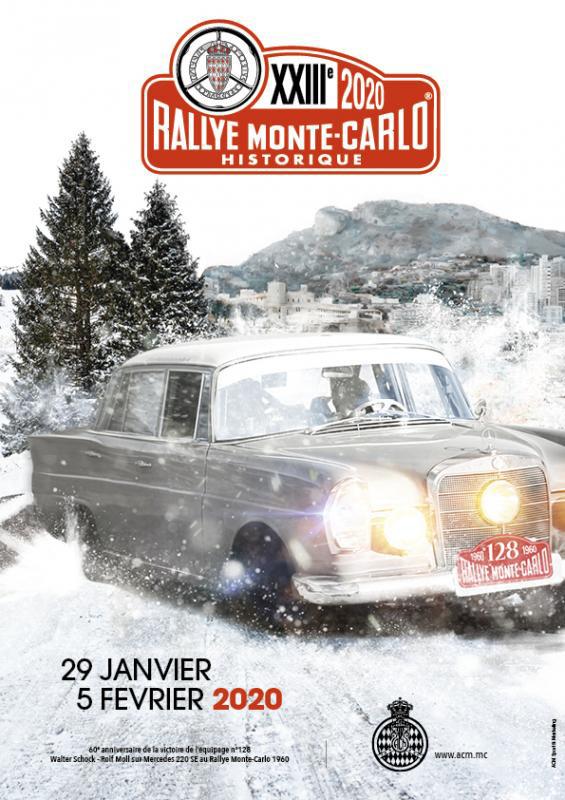 Rallye Monte Carlo Historic 2020