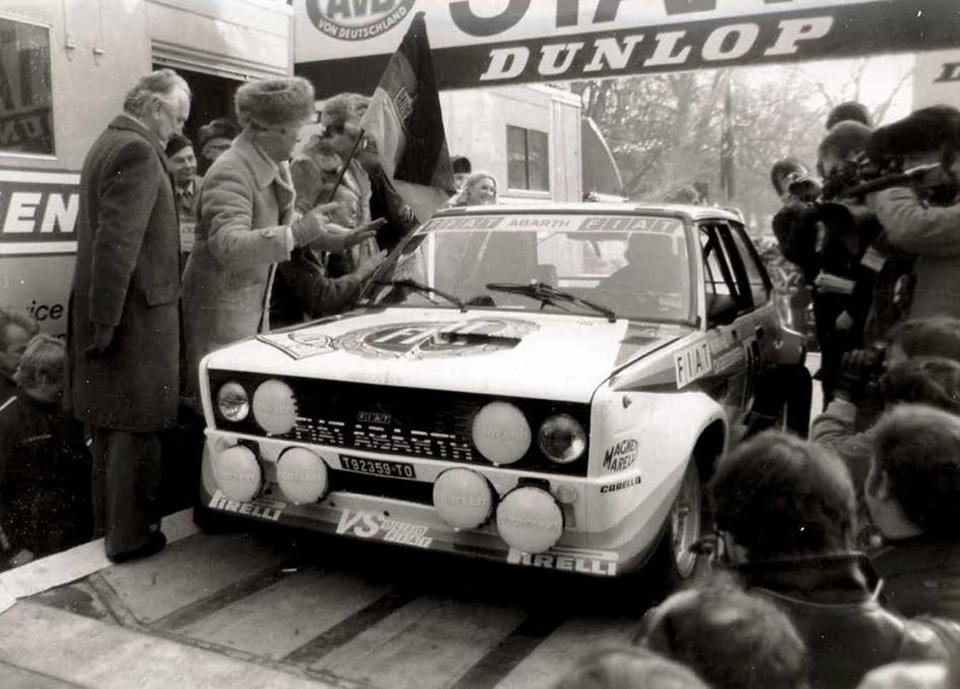 Walter Röhrl Fiat 131 Abarth Bad Homburg 1980