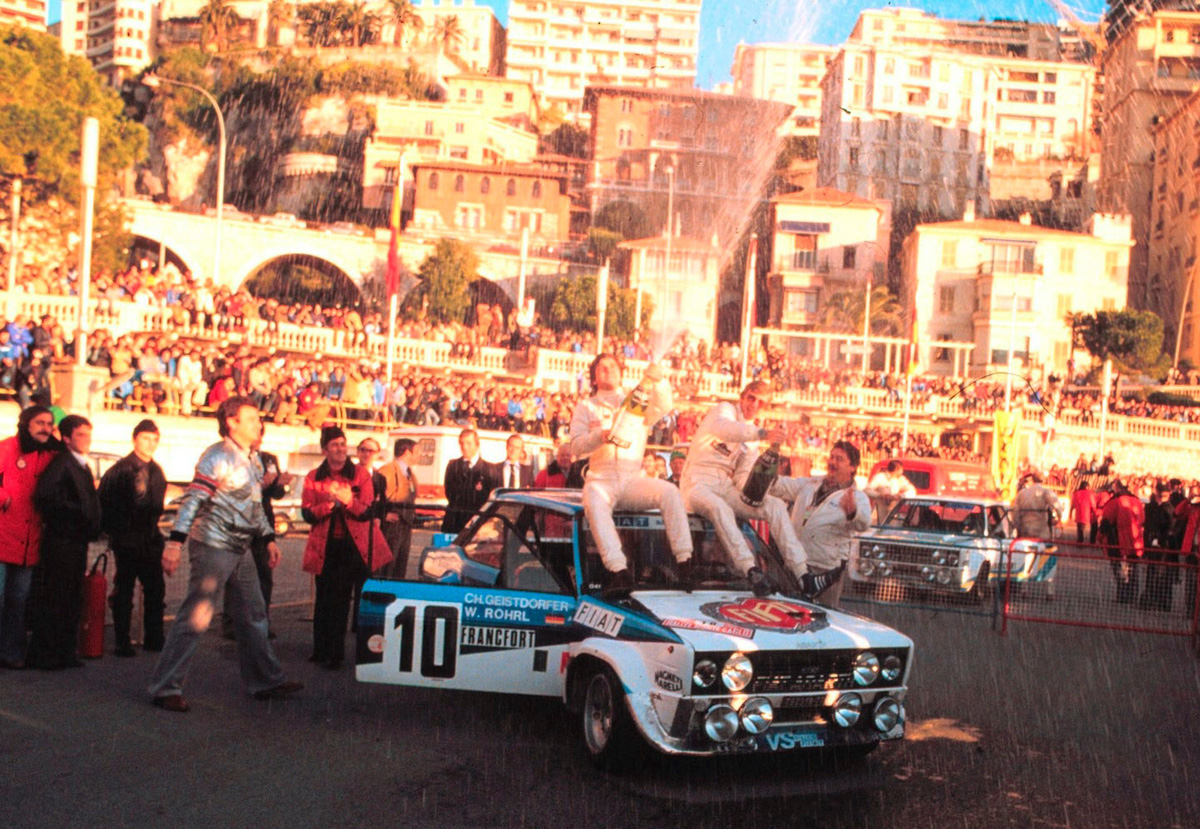Walter Röhrl Fiat 131 Abarth Monte Carlo 1980