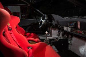 Ferrari 308 GTB Group B cockpit
