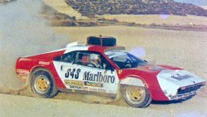 Ferrari 308 GTB Group B Baja Montesblancos 1985