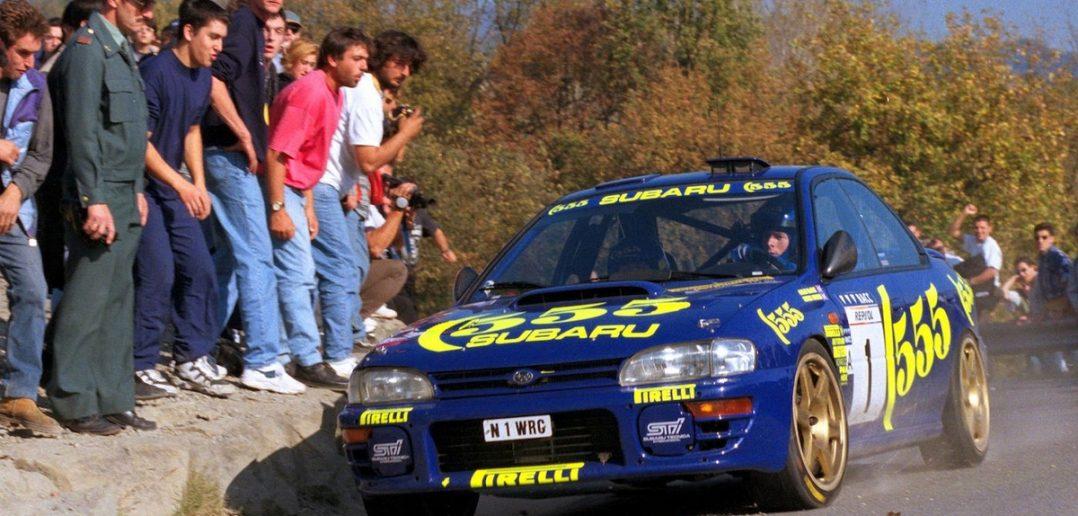 McRae a Subaru Impreza 555 jsou zpět!