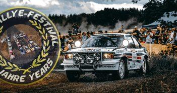 Eifel Rallye Festival 10 let