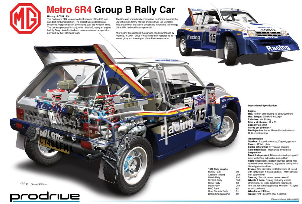 MG Metro 6R4 Prodrive