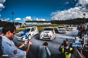 Rallylegend 2010 Parc fermé