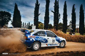 Tuscan Rewind 2010 - Ford Escort WRC