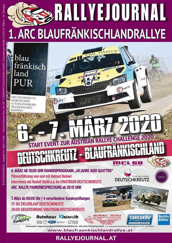 Blaufränkischland Rallye plakát
