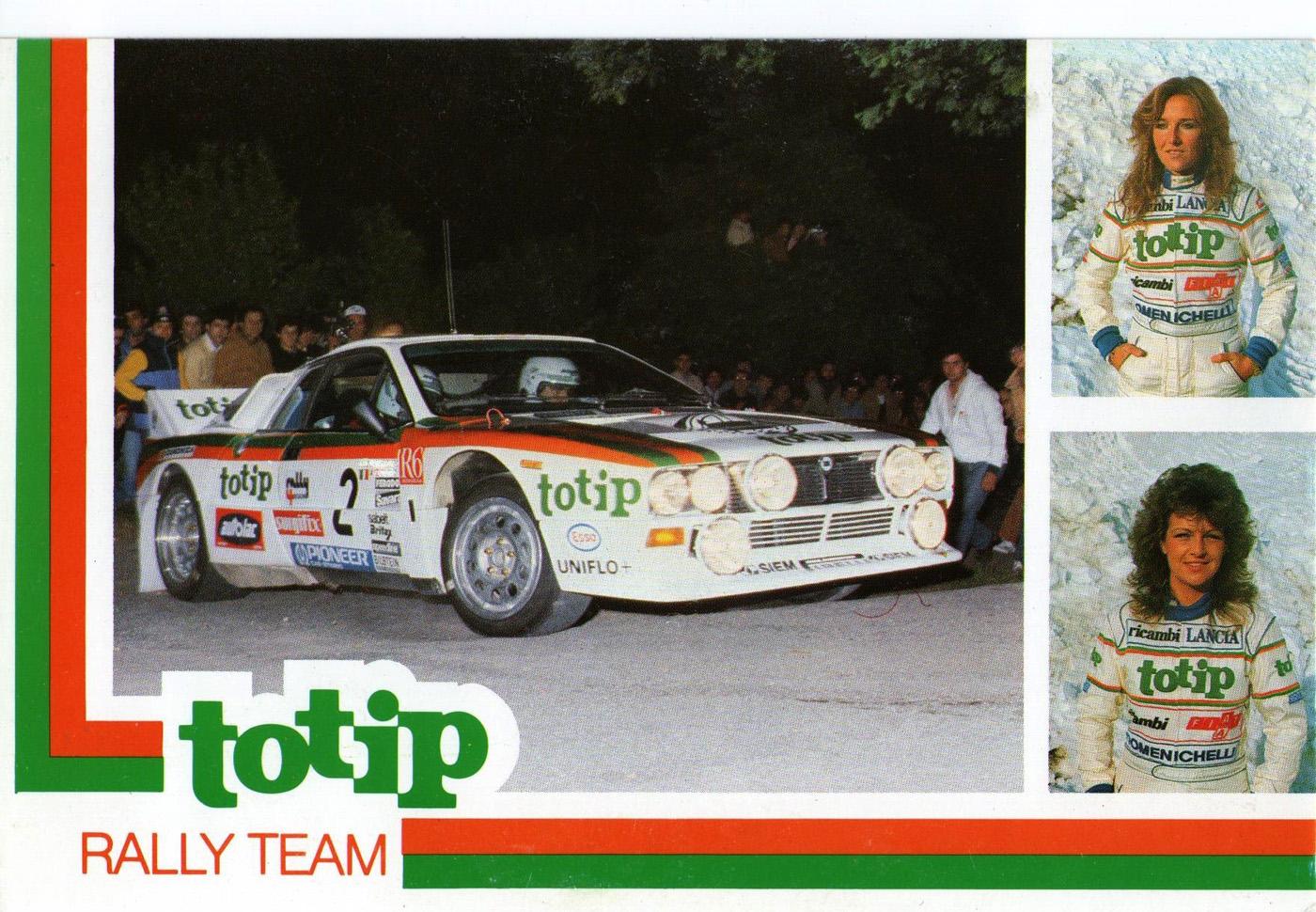 Antonella Mandelli - Lancia 037 Rally TOTIP